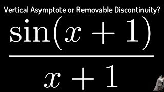 Does the Function have a Vertical Asymptote or Removable Discontinuity?