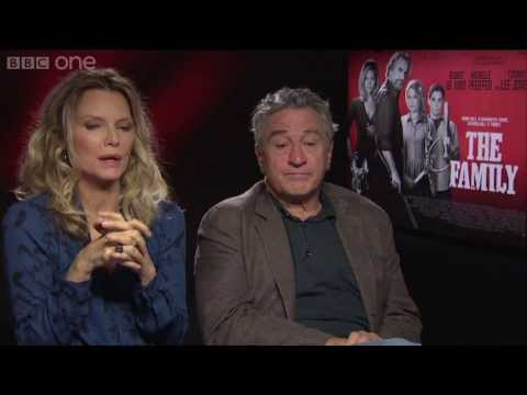 Michelle Pfeiffer and Robert De Niro on 'The Family' - Film 2013: Episode 11 Preview - BBC One