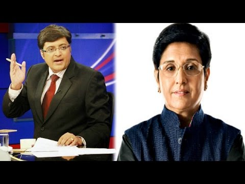 The Newshour Direct: Kiran Bedi (20th Jan 2015)