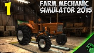 Farm Mechanic Simulator 2015  1 Empezamos  Gamepla