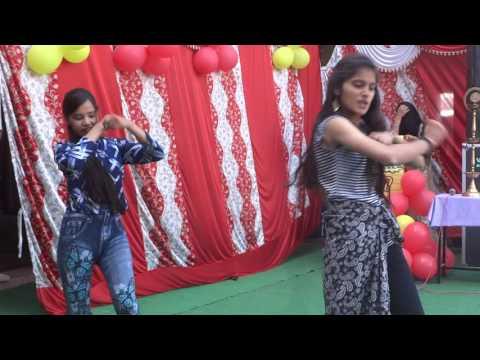 farewell Party Dance in Jimp Pioneer School by Pooja & Shivani Bhatt