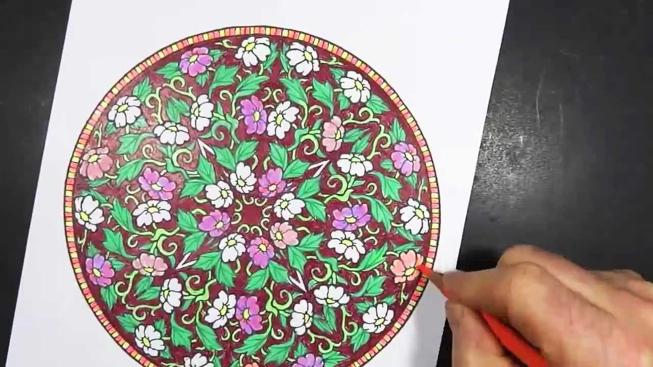 Mandala Therapy  Coloring Pages  Hattifant