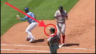 MLB Embarrasing Pickoff Error Moments  ᴴᴰ