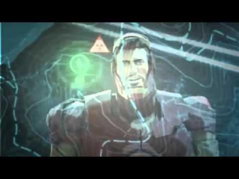 Pelicula Iron Man Hulk Heroes United 2013