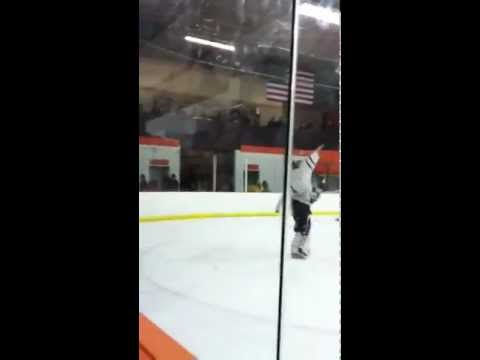 Farmington Goalie Scores on Himself