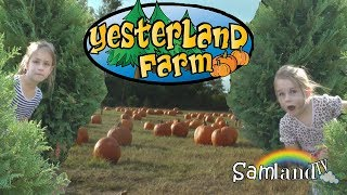 Yesterland Farm Fall Festival and Pumpkin Patch!