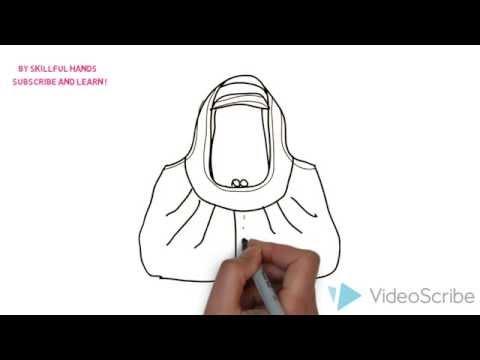 Видео как нарисовать сумку