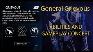 Star Wars Battlefront II: Grievous gameplay concept