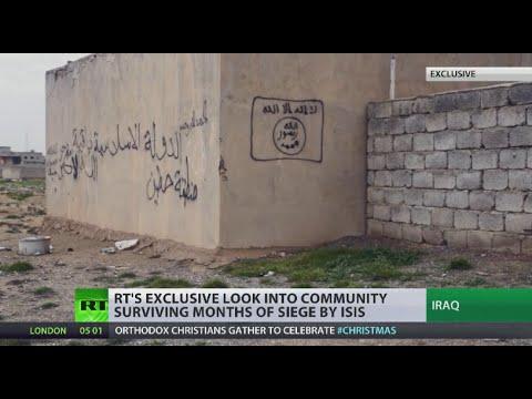 ISIS Siege Desolation: RT travels to devastated mt. Sinjar area in Iraq