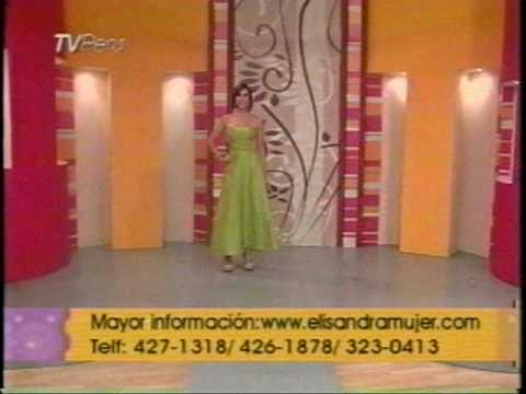 Vestidos de fiesta y de promoción. Programa Hola Perú