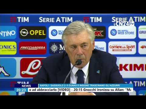 conferenza stampa dopo Napoli - Sassuolo