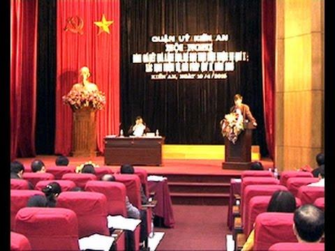 Hội nghị BCH Đảng bộ quận đánh giá kết quả lãnh đạo, chỉ đạo thực hiện nhiệm vụ quý I, xác định nhiệm vụ, giải pháp quý II