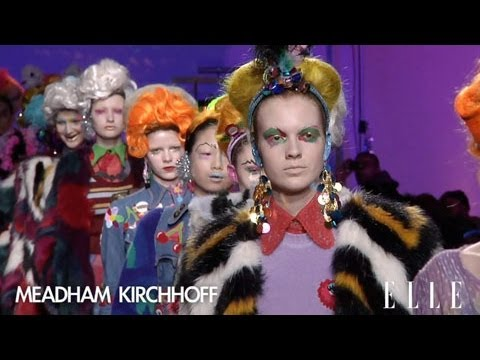 Meadham Kirchhoff FW2012-13 collection