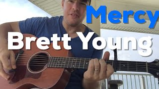 Download Lagu Mercy | Brett Young | Beginner Guitar Lesson Gratis STAFABAND
