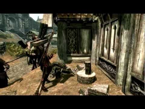 Life in skyrim: The Woodcutter