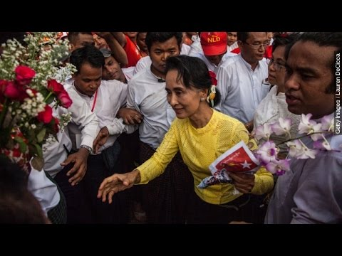 Suu Kyi's Opposition Party Wins Majority In Myanmar Elections - Newsy