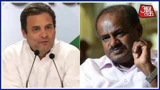 Kumaraswamy To Meet Sonia Gandhi And Rahul Gandhi In Delhi Today | Khabrein Superfast
