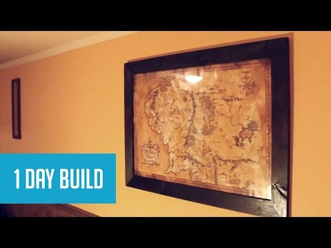 How to make a poster board look old