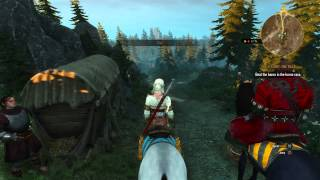 The Witcher 3: Wild Hunt - Ciri's Story The Race: Ciri Races The Baron via Horseback Sequence