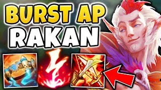THIS RAKAN BUILD IS ONESHOTTING PRO PLAYERS WHAT M