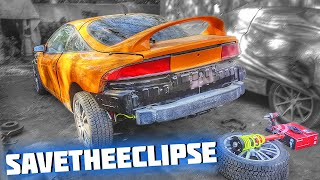 Mitsubishi Eclipse VLOG (How to assemble the rear AWD shafts) #SaveTheEclipse №16