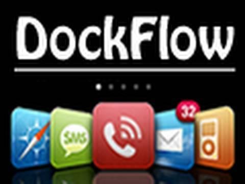 iSpazio DockFlow on the iPhone/iPod Touch