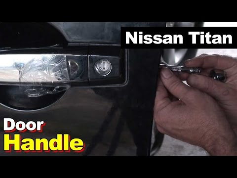 2005 Nissan Titan Drivers Side Door Handle
