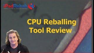iPhone 6s A9 CPU SDRAM Reballing.  Fertile method.