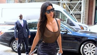Kim Kardashian Defends Her Sexy Sheer Looks