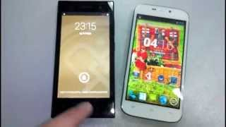 Обзор Prestigio MultiPhone 3452   VS   Qumo Quest 452