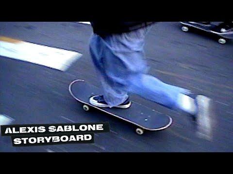 "Alexis Sablone's ""Storyboard"" Video"