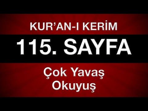 Kur'an-ı Kerim 116. sayfa (çok yavaş okuyuş) yeni öğrenenler için