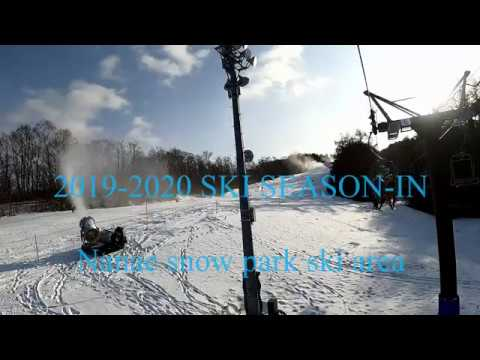 ski video with GoPro