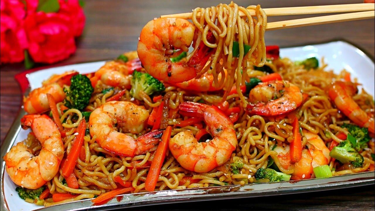 Prawn Noodle Stir-Fry Recipe Prawn Noodle Stir-Fry Recipe new pics
