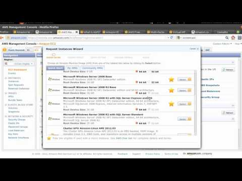 VEEZOR - Screencast - Primeiros Passos no AWS / Amazon EC2