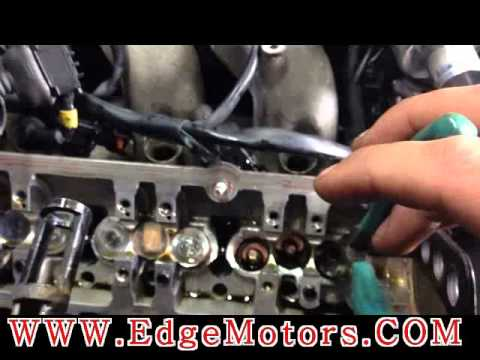 VW Audi v6 engine valve stem seals replacement DIY by Edge Motors