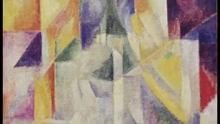 "1913 | ""Simultaneous Contrasts: Sun and Moon"" by Robert Delaunay Paris 1913 (dated on painting 1912)"