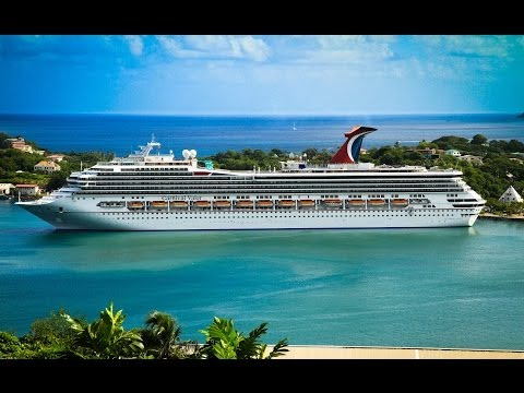 Carnival Valor Cruise Ship Video - Southern Caribbean Vacation [Canon 7D DSLR]