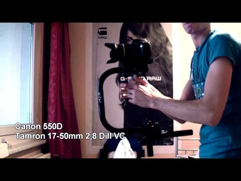 U-Flycam Steadycam from India and Canon Eos 550D