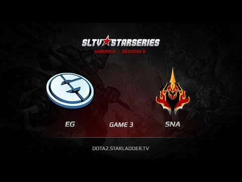 EG vs SNA, SLTV America Season X Play off FINAL Game 3