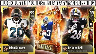 BLOCKBUSTER MOVIE STAR FANTASY PACK! PICK ANY BLOCKBUSTER! | MADDEN 18 ULTIMATE TEAM