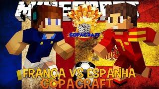 França Vs Espanha - Copacraft Minecraft