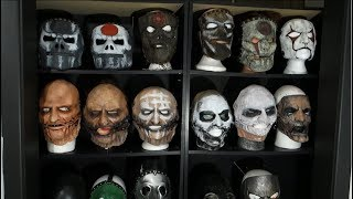 INSANE Slipknot Mask Collection!