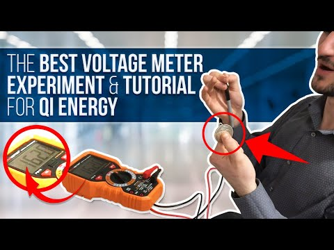 The Best Voltage Meter Experiment and Tutorial for Qi Energy