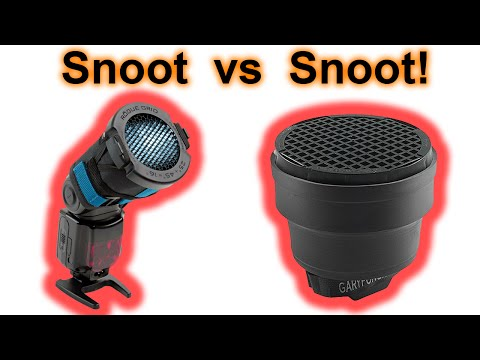 Snoot vs. Snoot: Gary Fong vs. Rogue. Photography gear review!