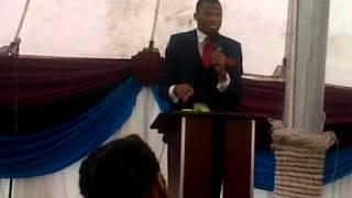 PASTOR NDABA   PREACHING