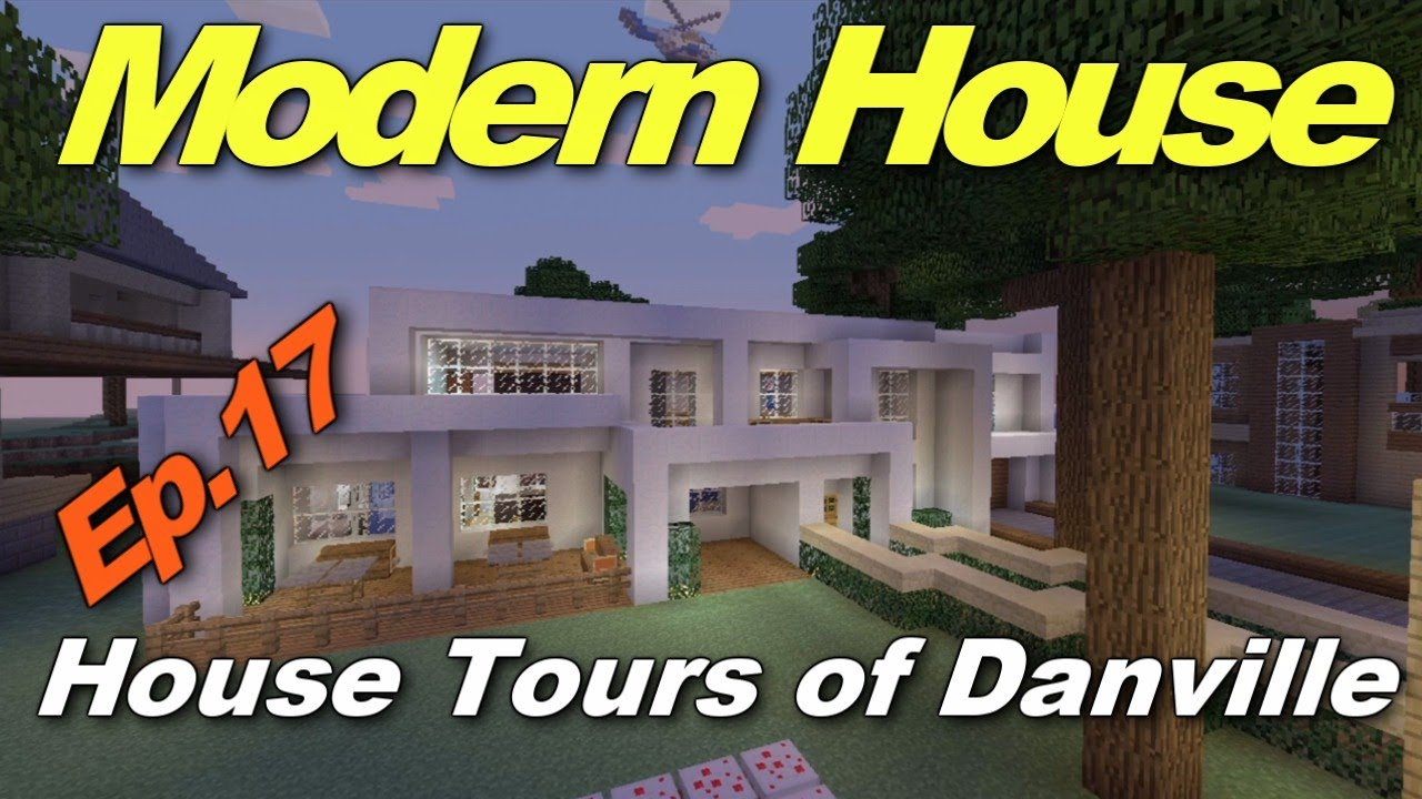 Minecraft xbox 360 cool modern house house tours of for Modern house xbox minecraft