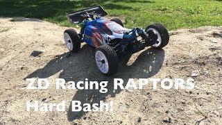 ZD Racing RAPTORS BX 16: Hard Bash After Crash Repair