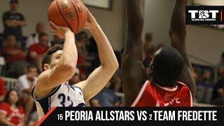 2018 TBT Midwest Region - #15 Peoria Allstars VS #2 Team Fredette