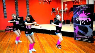 REGGAETON  KIDS /  Dance is convey / Emiliano Ferrari Villalobo (HD)